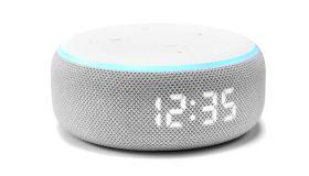 Amazon Echo Dot Smart Speaker With Clock