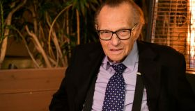 Friars Club And Crescent Hotel Honor Larry King For His 86th Birthday