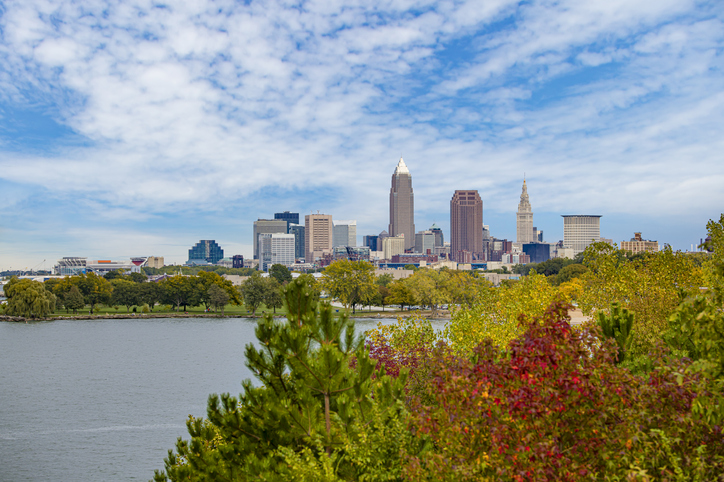 Cleveland in the Fall
