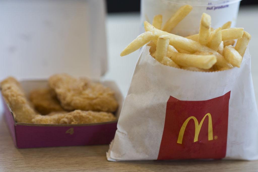 A McDonald's Corp. Restaurant Ahead Of Earnings Figures