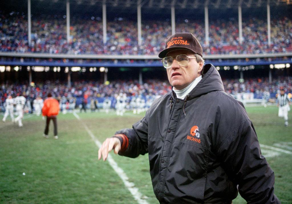 Cleveland Browns Marty Schottenheimer