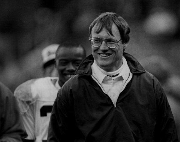 Marty Schottenheimer of the Cleveland Browns...