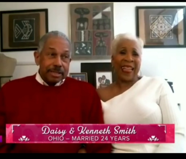 Kenneth and Dr. Daisy Alford-Smith Hoda and Jenna Show