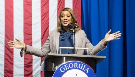 Sen. David Purdue Holds Election Night Event In Atlanta