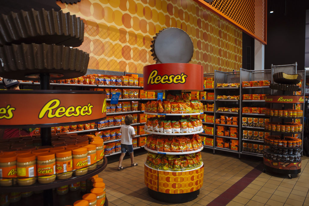 Hershey Co. Chocolate World Store Ahead Of Earnings Figures