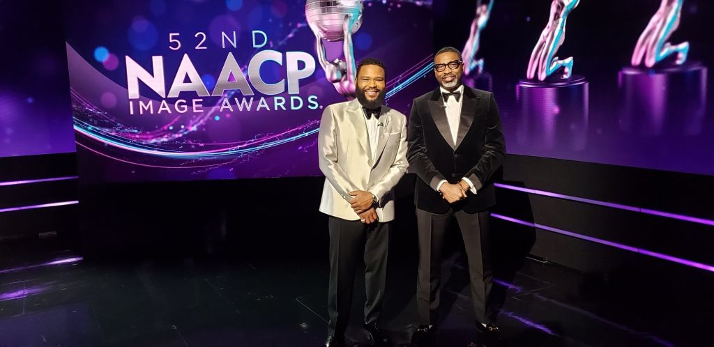 Celebrities Get Ready For The 52nd NAACP Image Awards
