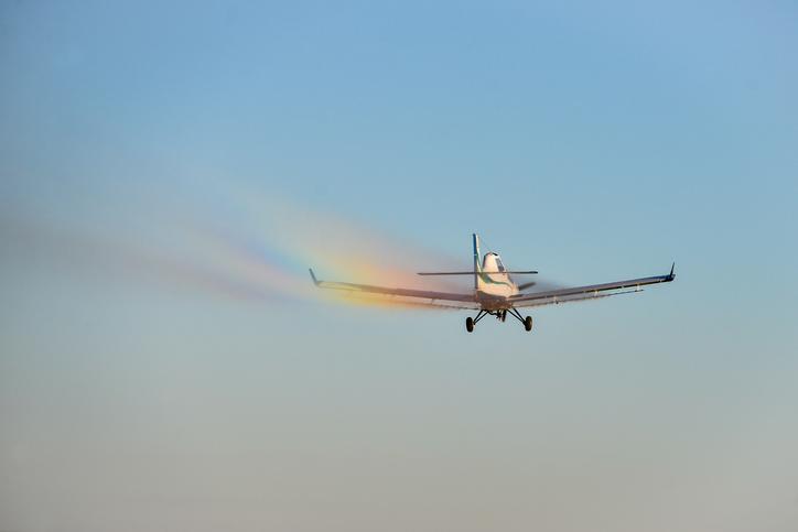 Crop Sprayer Airplane