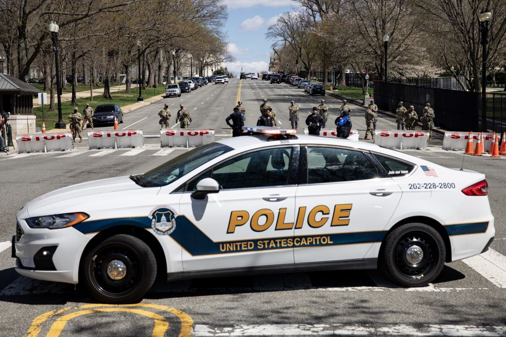 US Capitol on lockdown after 2 officers 'rammed' by car