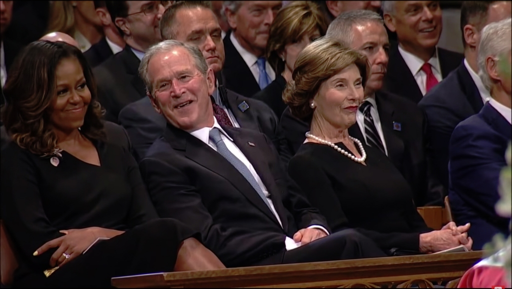 John McCain memorial service: Former Pres. Barack Obama, George W. Bush to give Eulogy as seen on ABC.