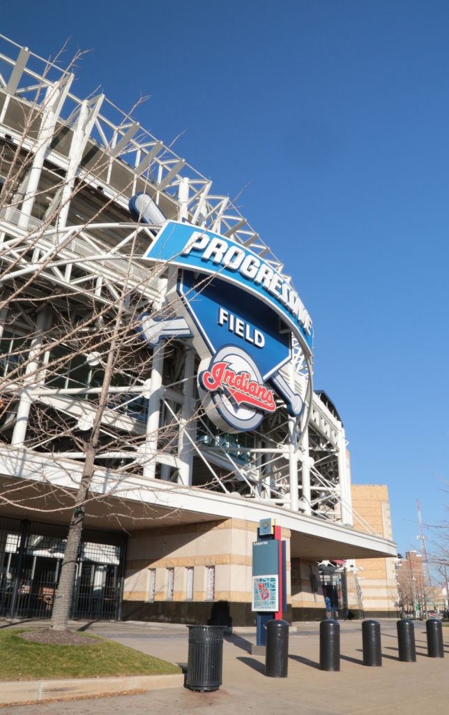 Progressive Field Baseball Stadium