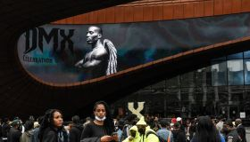 Memorial Service Held For Rapper DMX