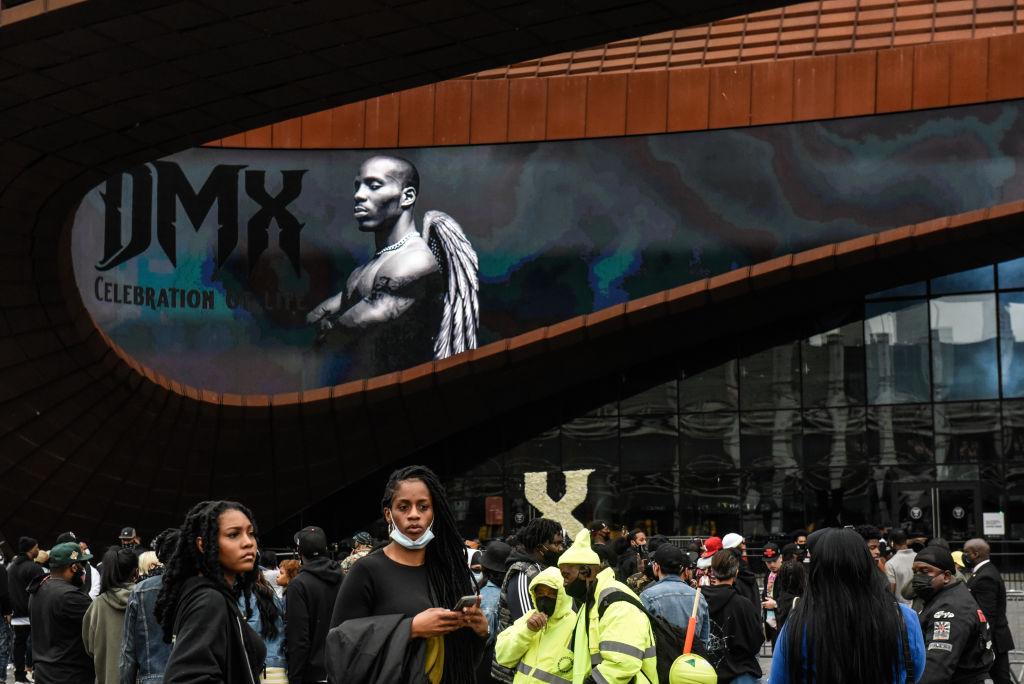 Memorial Service Held For Rapper DMX