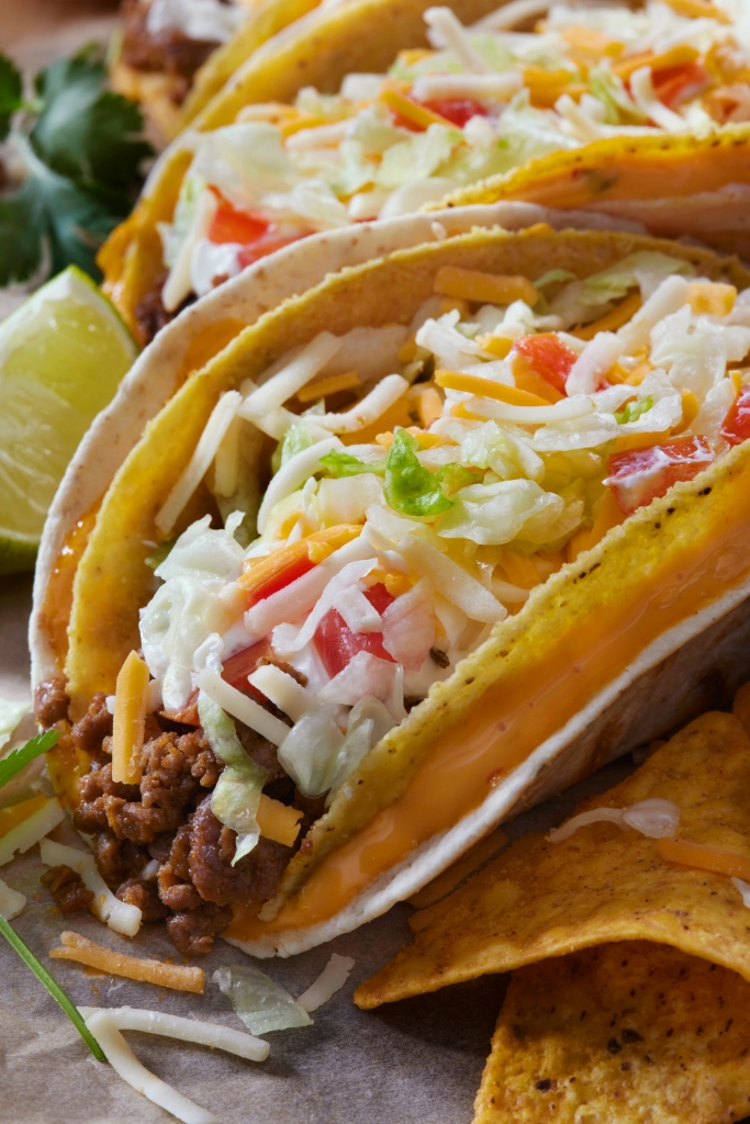 The Cheesy Gordita Beef Taco
