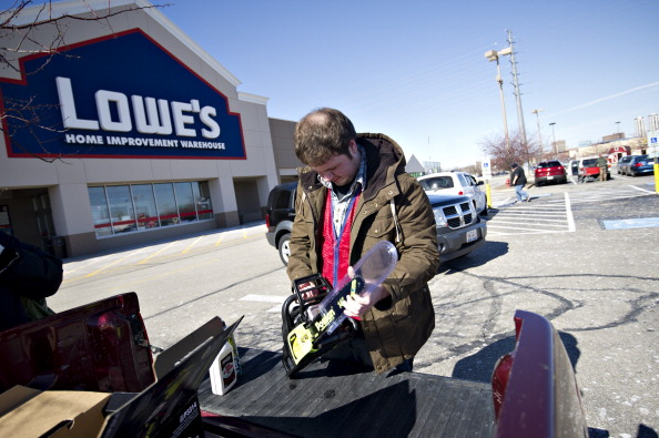 Exteriors Views Of Lowe's Cos. Inc Ahead Of Earns