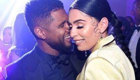Usher and girlfriend Jennifer Goicoechea