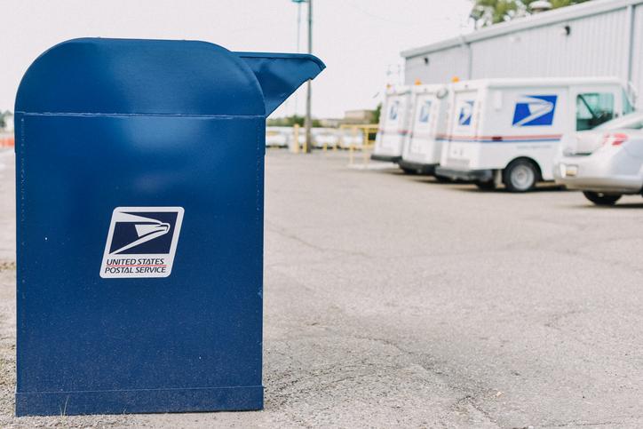 USPS Postal office box.