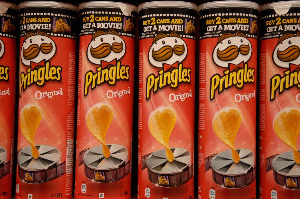 Pringles,crisps,potato chips