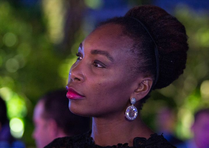Venus Williams attends the athlete party in 2015