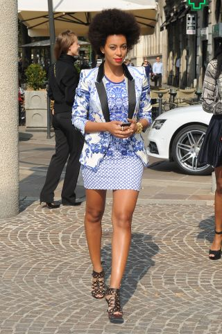 Just Cavalli - Arrivals - Milan Fashion Week Womenswear S/S 2013