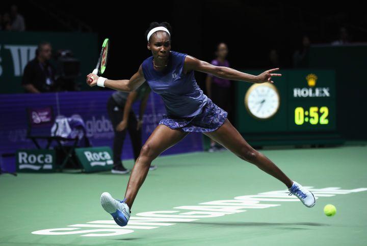 Venus at a match in Singapore
