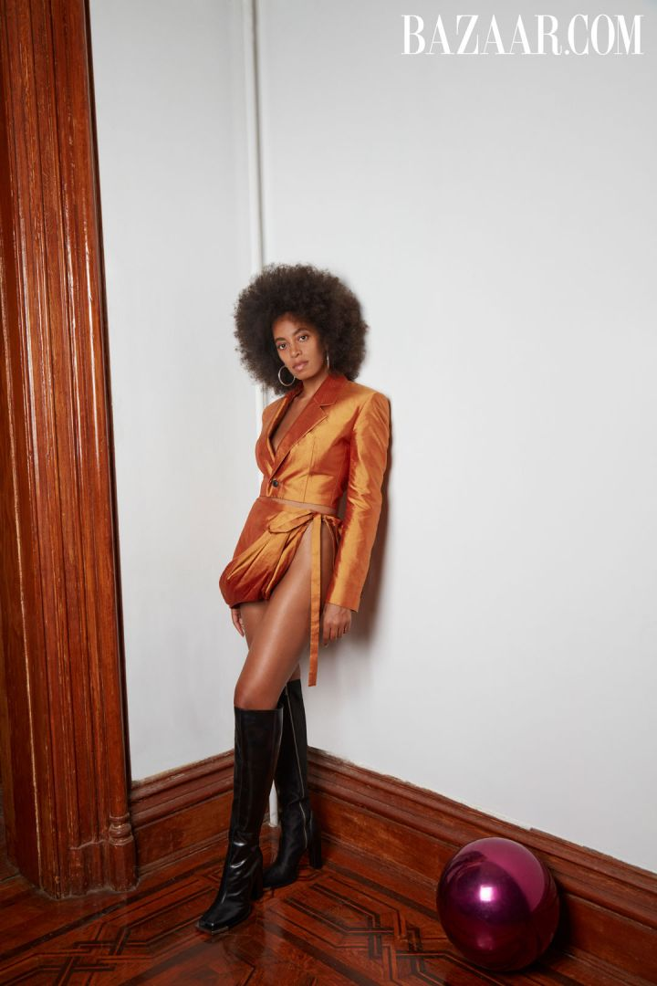 Solange Knowles featured in Harper's Bazaar
