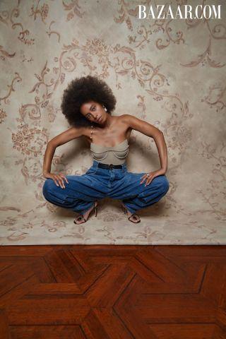 Solange Knowles covers Harper's Bazaar digital issue