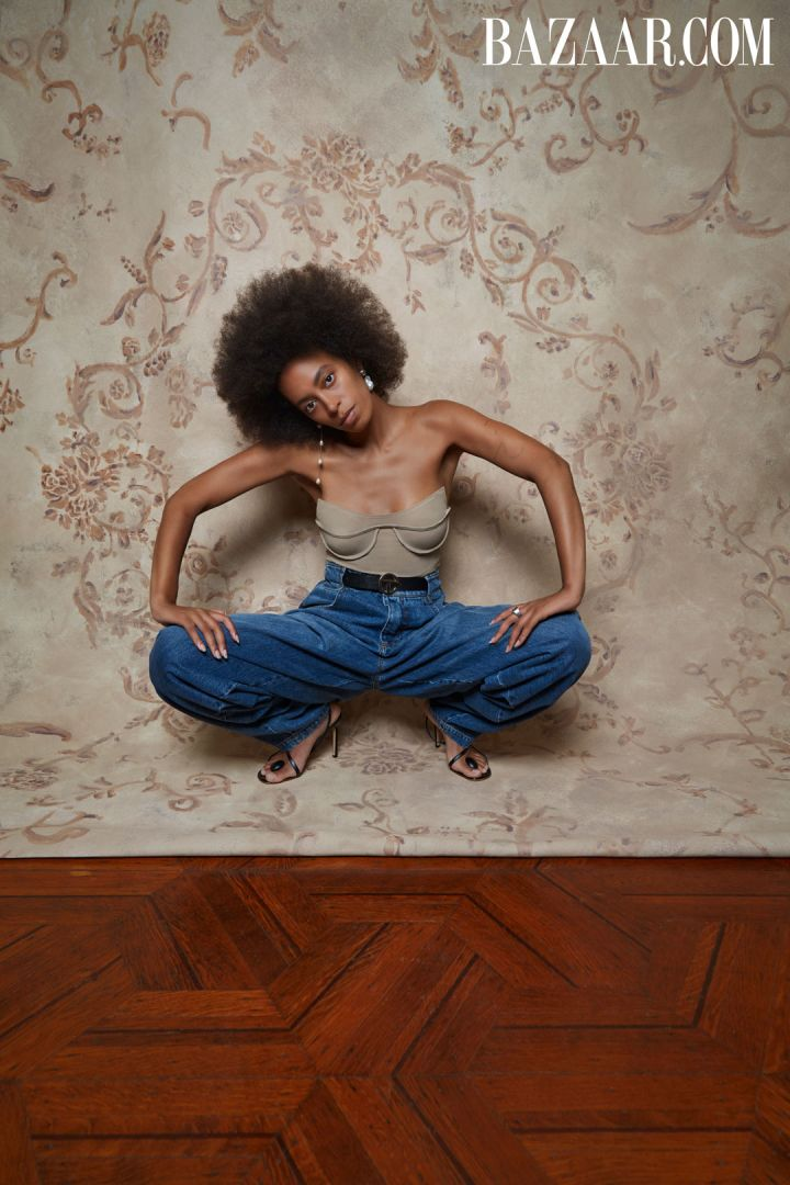 Solange covers Harper's Bazaar