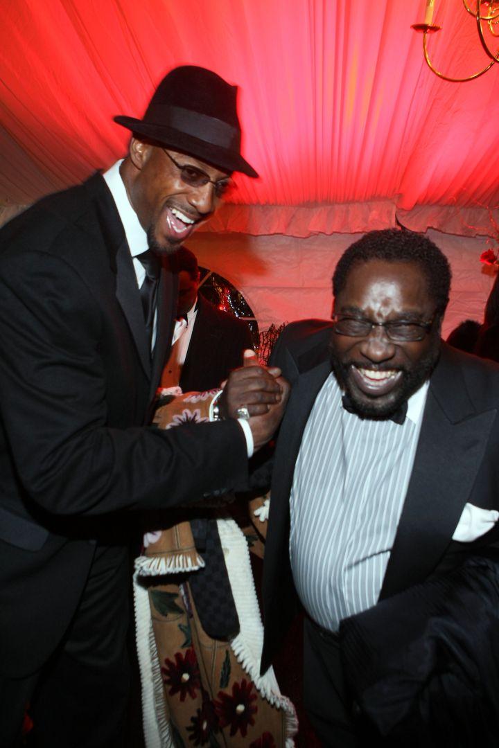 NBA legend Alonzo Mourning and Eddie