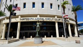 exterior of front of the 13th judicial circuit court in downtown tampa, florida