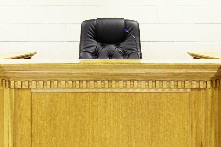 Judges Bench and Chair