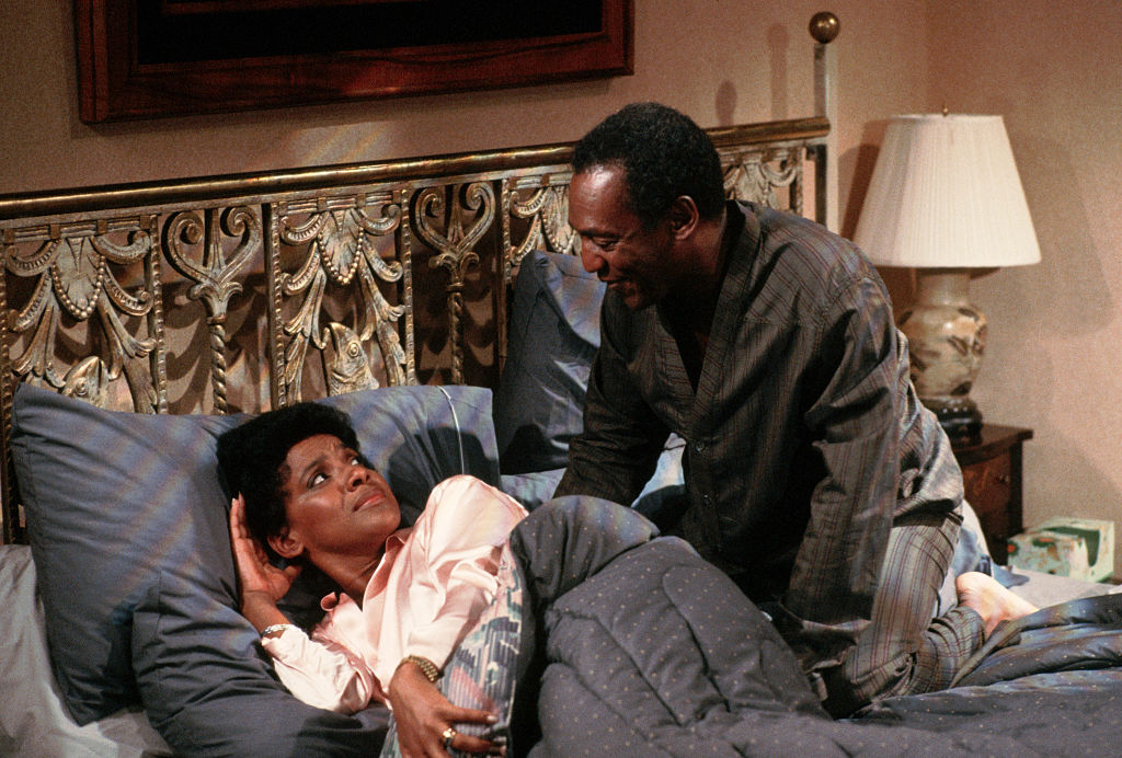 """On the Set of the """"Cosby Show"""""""