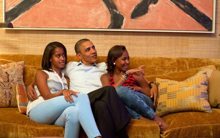 Quality Times With Malia and Sasha