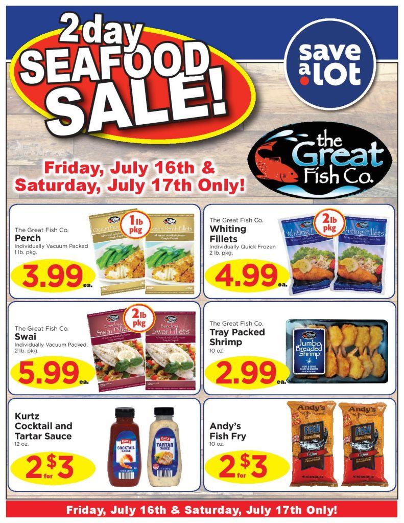 Save A Lot Sale 7/16-7/17