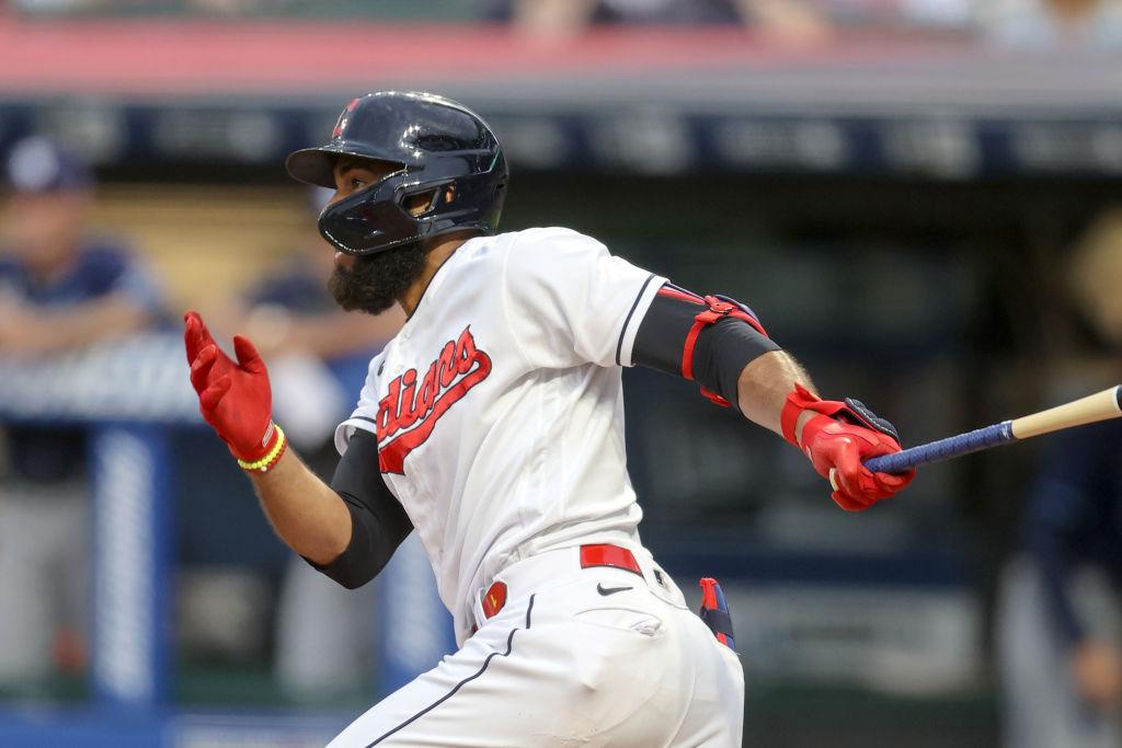 MLB: JUL 24 Rays at Indians