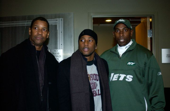 Celebrities Attend the Seattle Seahawks v New York Jets game