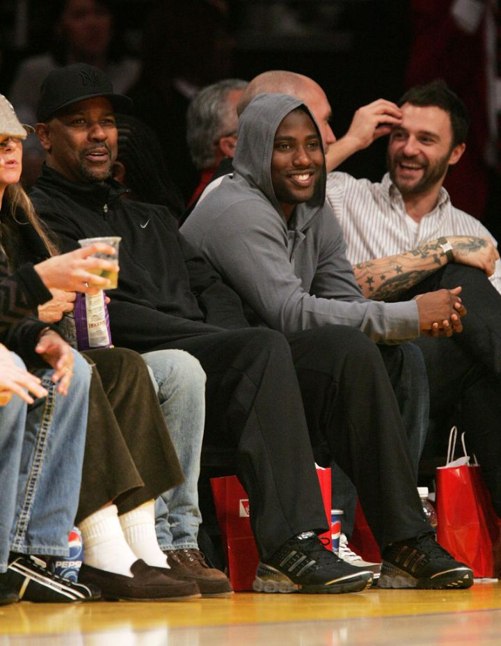 John and His Dad Attend a 2008 Lakers Game
