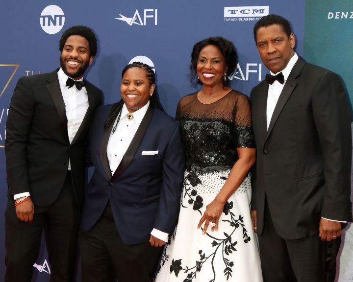 The Washington Family at the 2019 AFI Honors