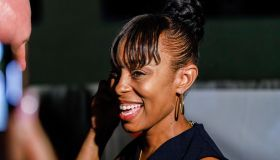 Shontel Brown gets on phone after learning she won Ohio's...