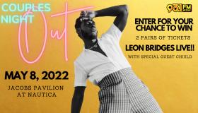 Leon Bridges Ticket Giveaway