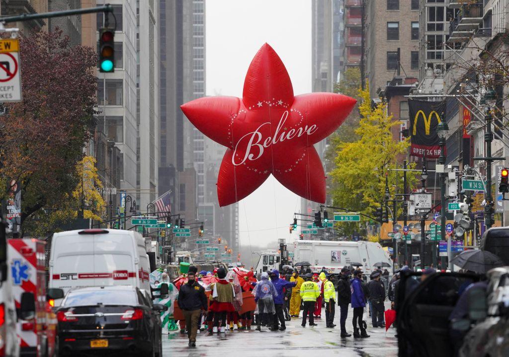 U.S.-NEW YORK-MACY'S THANKSGIVING DAY PARADE-COVID-19