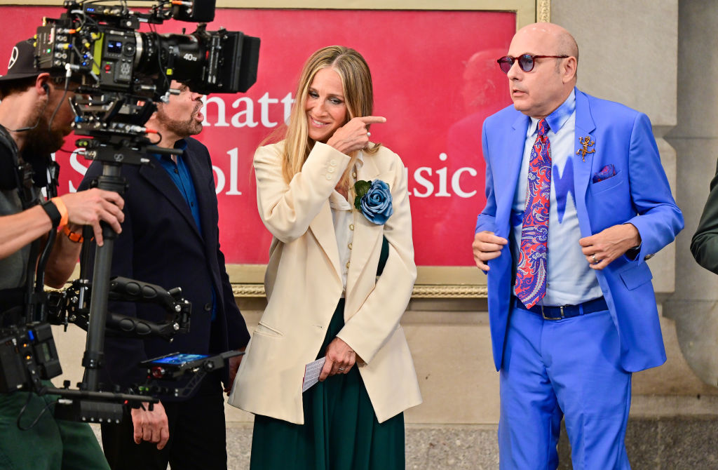 Celebrity Sightings In New York City - July 24, 2021