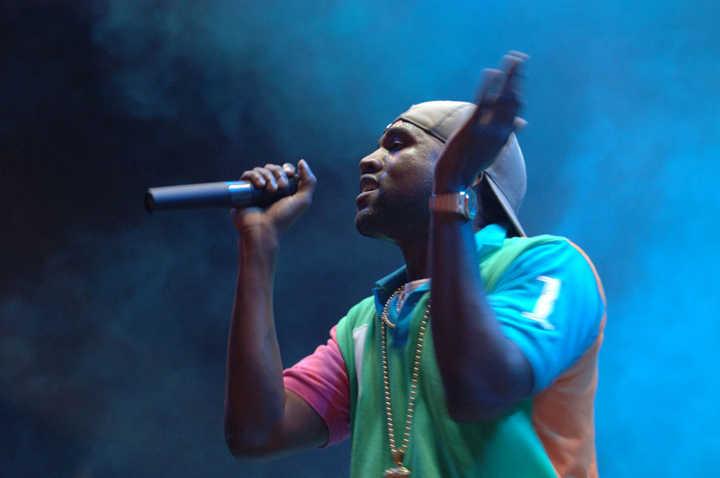 Kanye West Performs At Lollapalooza